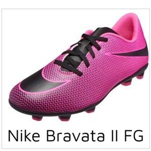 Nike Girls Bravada II FG Soccer Shoe 13C